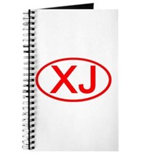 XJ Oval (Red) Journal