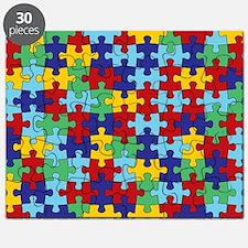 autism awareness  piece pattern Puzzle