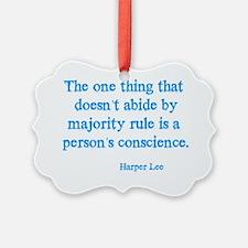 Majority Rule Ornament