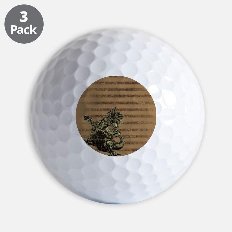 Godzilla Golf Ball