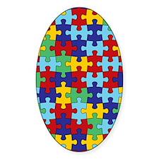 Autism Awareness Puzzle Piece Patte Decal