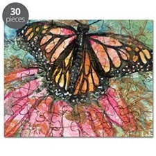 Orange Butterfly Fairy Puzzle