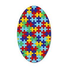 Autism Awareness Puzzle Piec Wall Decal