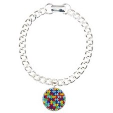 Autism Awareness Puzzle  Bracelet