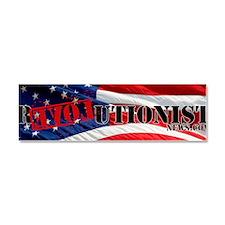 RevolutionNews.com Flag Shirt Car Magnet 10 x 3
