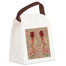 gypsy girl Canvas Lunch Bag