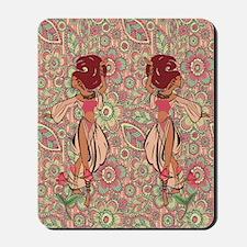 gypsy girl Mousepad