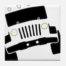Jeepster Rock Crawler Tile Coaster