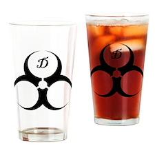 DoomGear Logo Drinking Glass