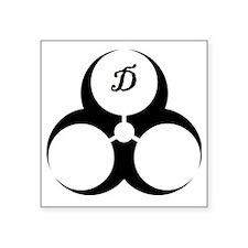 "DoomGear Logo Square Sticker 3"" x 3"""