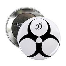 """DoomGear Logo 2.25"""" Button"""