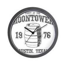Party at the Moontower 1976 Wall Clock