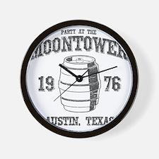 Party at the Moontower 1976 Wall Clock