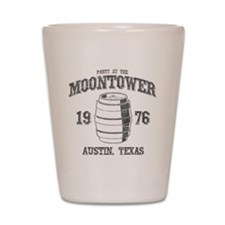 Party at the Moontower 1976 Shot Glass