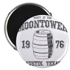 Party at the Moontower 1976 Magnet