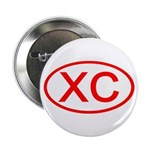 XC Oval (Red) Button