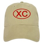 XC Oval (Red) Cap