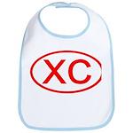XC Oval (Red) Bib