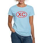 XC Oval (Red) Women's Light T-Shirt