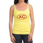 XC Oval (Red) Jr. Spaghetti Tank