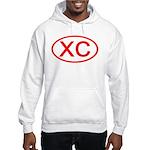 XC Oval (Red) Hooded Sweatshirt