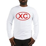 XC Oval (Red) Long Sleeve T-Shirt