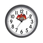Fire Dragon Wall Clock