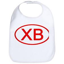 XB Oval (Red) Bib