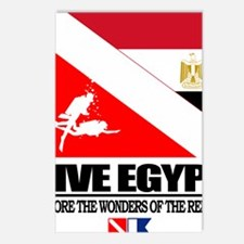 Dive Egypt Postcards (Package of 8)