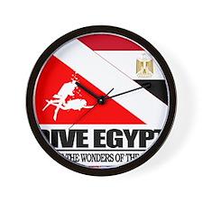 Dive Egypt Wall Clock