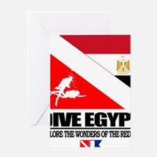 Dive Egypt Greeting Card