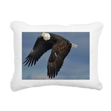 full crop eagle Rectangular Canvas Pillow
