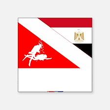 """Dive Egypt Square Sticker 3"""" x 3"""""""