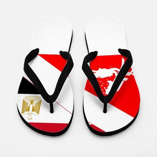 Dive Egypt Flip Flops