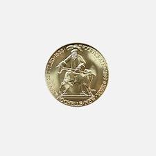 1938 New Rochelle Silver Half Dollar o Mini Button
