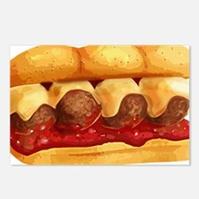 Meatball Sub Postcards (Package of 8)