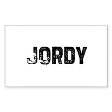 Jordy Rectangle Decal