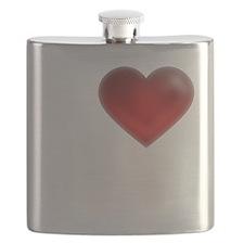 I Heart Dominican Republic Flask