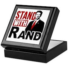 Stand With Rand Keepsake Box