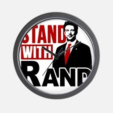 Stand With Rand Wall Clock
