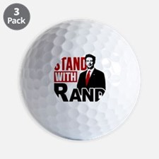 Stand With Rand Golf Ball