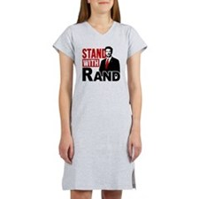 Stand With Rand Women's Nightshirt