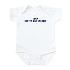Team OYSTER MUSHROOMS Infant Bodysuit