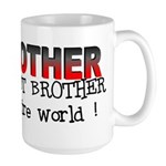 My Brother Has the Best Broth Large Mug