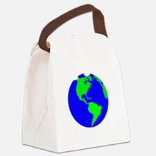 Lets Get Naked  Rock The Planet_W Canvas Lunch Bag