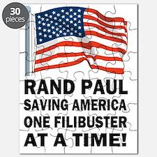 Rand Paul saving America filibuster Puzzle