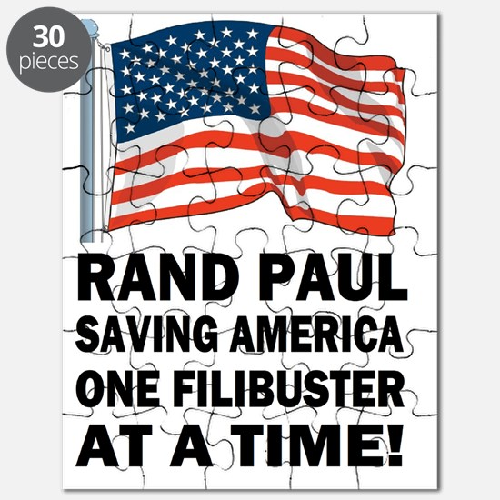 Rand Paul saving America filibuster Puzzle
