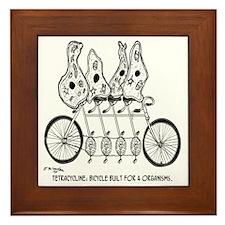 Tetracycline: Bike Built For Four Framed Tile