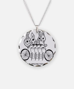 Tetracycline: Bike Built For Necklace