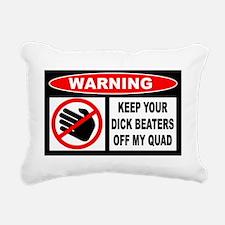 Beaters Rectangular Canvas Pillow